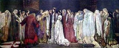 Castle Of Maidens | Edwin Austin Abbey | Oil Painting