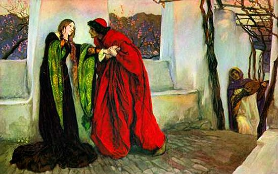 O Mistress Mine Where Are You Roaming | Edwin Austin Abbey | Oil Painting