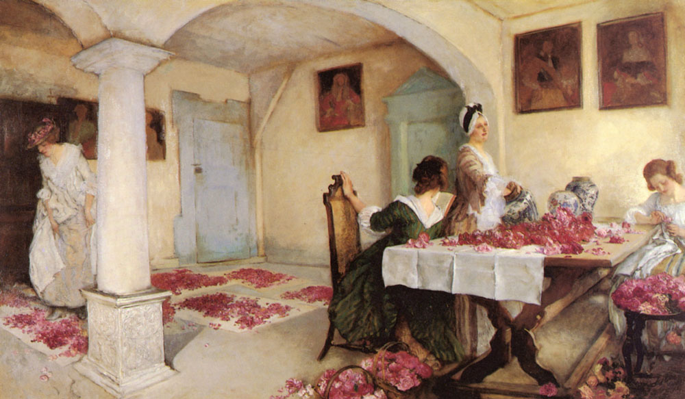 Potpourri | Edwin Austin Abbey | Oil Painting