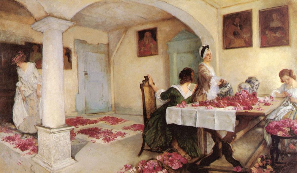 Potpourri | Edwin Austin Abbey | Oil Painting