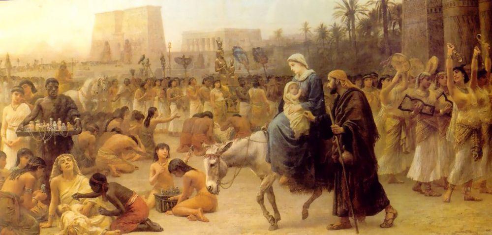 Anno Domini | Edwin Longsden Long | Oil Painting