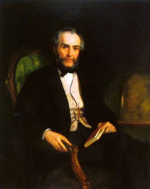 Portrait Of Peter Douglas Esquire | Edwin Longsden Long | Oil Painting