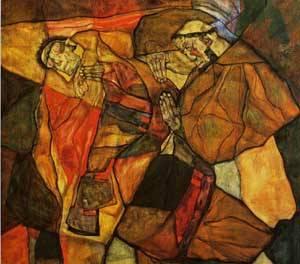 Agony 1912 | Egon Schiele | Oil Painting