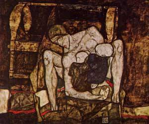 Blind Mother 1914 | Egon Schiele | Oil Painting