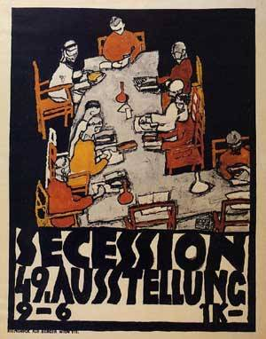Forty-Ninth Secession Exhibition Poster 1918 | Egon Schiele | Oil Painting