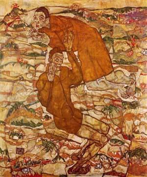 Levitation 1915 | Egon Schiele | Oil Painting