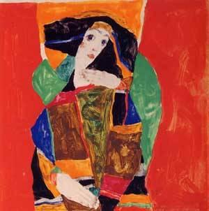 Portrait of a Woman 1912 | Egon Schiele | Oil Painting