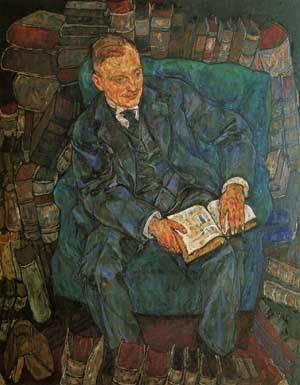 Portrait of Dr Hugo Koller 1918 | Egon Schiele | Oil Painting