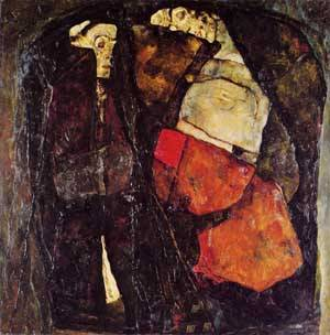 Pregnant Woman and Death 1911 | Egon Schiele | Oil Painting
