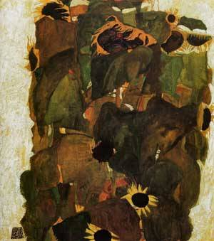Sunflowers 2 1911 | Egon Schiele | Oil Painting