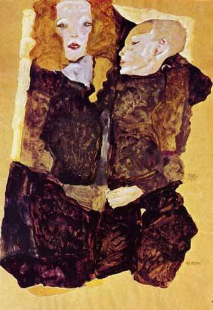 The Brother 1911 | Egon Schiele | Oil Painting
