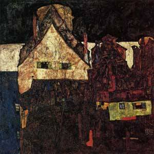 The Small City (aka Dead City VI) 1912 | Egon Schiele | Oil Painting