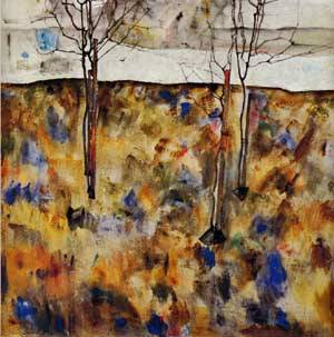 Winter Trees 1912 | Egon Schiele | Oil Painting