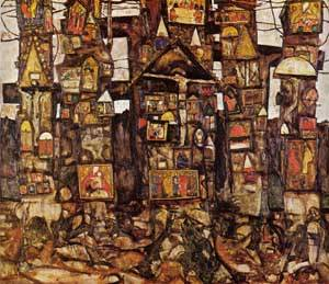 Woodland Prayer 1915 | Egon Schiele | Oil Painting