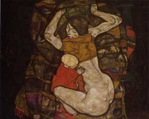 Young Mother 1914 | Egon Schiele | Oil Painting