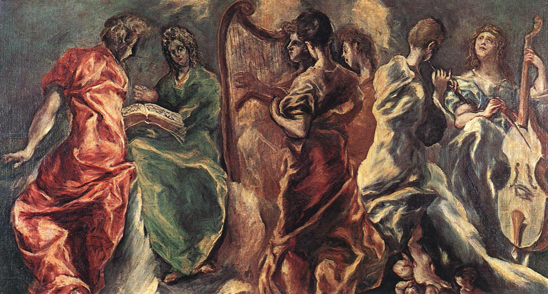 Angelic Concert C 1610 | El Greco | Oil Painting