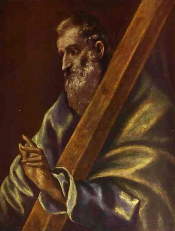 Apostle St Andrew 1610 | El Greco | Oil Painting