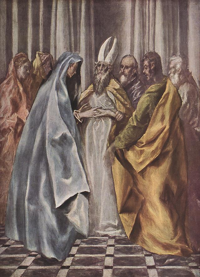 Betrothal Of The Virgin 1614 | El Greco | Oil Painting