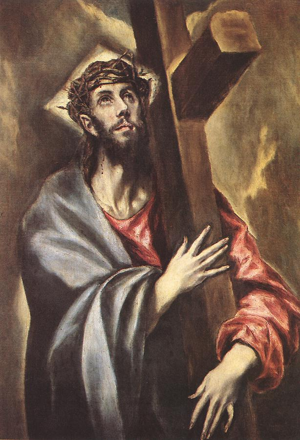 Christ Carrying The Cross 1600-05 | El Greco | Oil Painting
