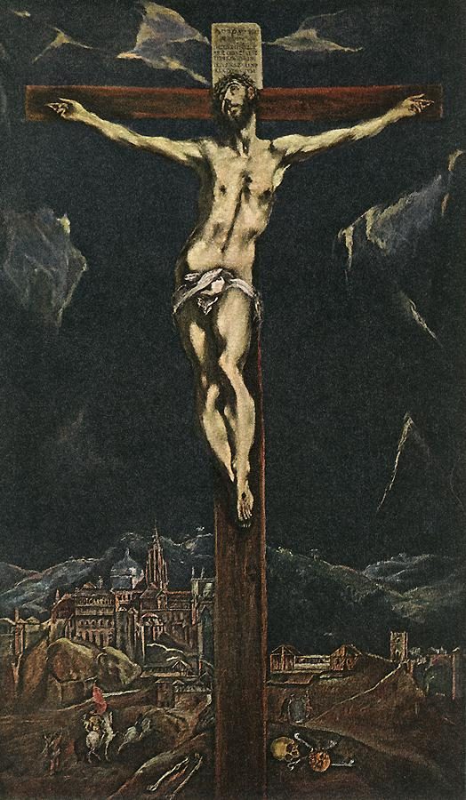 Christ On The Cross 1600-10 | El Greco | Oil Painting