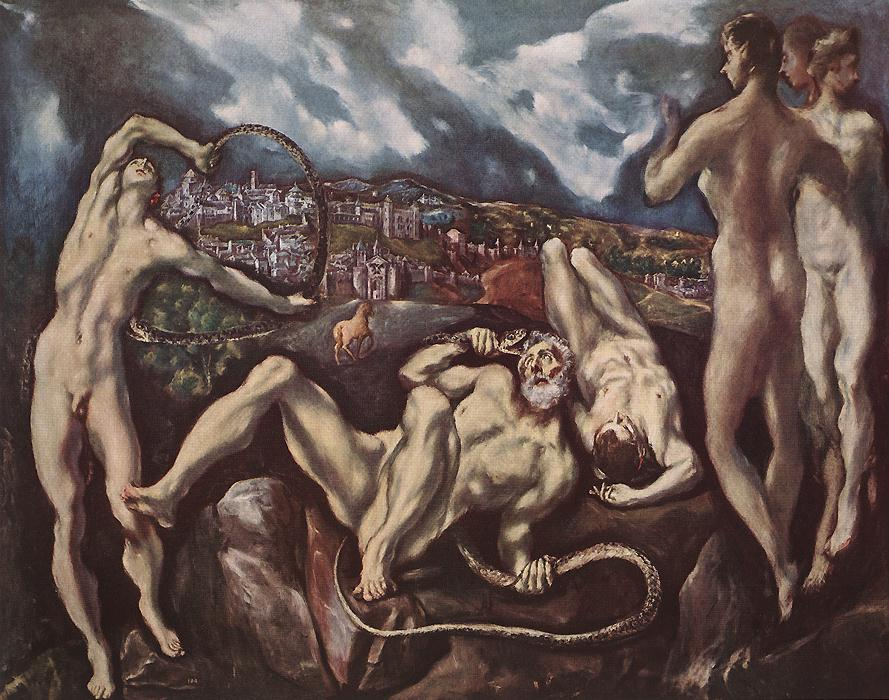 Laokoon 1610 | El Greco | Oil Painting