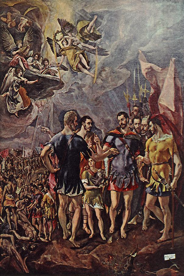 Martyrdom Of St Maurice And His Legions 1580-81 | El Greco | Oil Painting