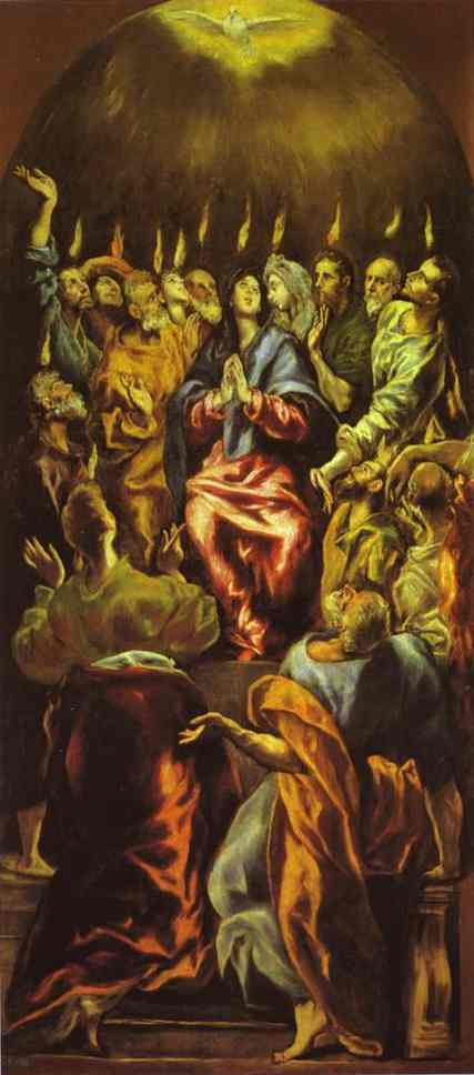 Pentecost 1600 | El Greco | Oil Painting