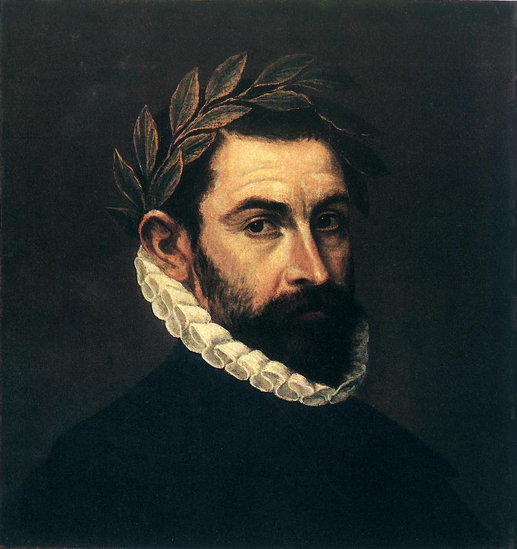 Poet Ercilla Y Zuniga 1590-1600 | El Greco | Oil Painting