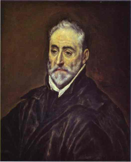Portrait Of Antonio De Covarrubias Y Leiva 1594 | El Greco | Oil Painting