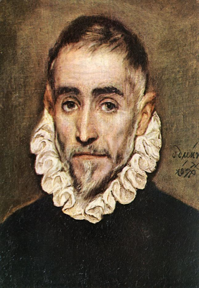 Portrait Of An Elder Nobleman 1584-94 | El Greco | Oil Painting