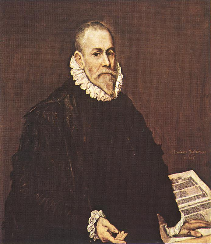 Portrait Of A Doctor 1577-84 | El Greco | Oil Painting