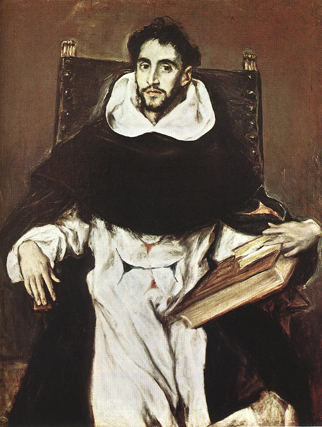 Portrait Of Hortensio Felix Paravicino C 1609 | El Greco | Oil Painting
