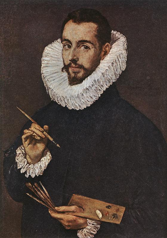 Portrait Of The Artists Son Jorge Manuel C 1603 | El Greco | Oil Painting