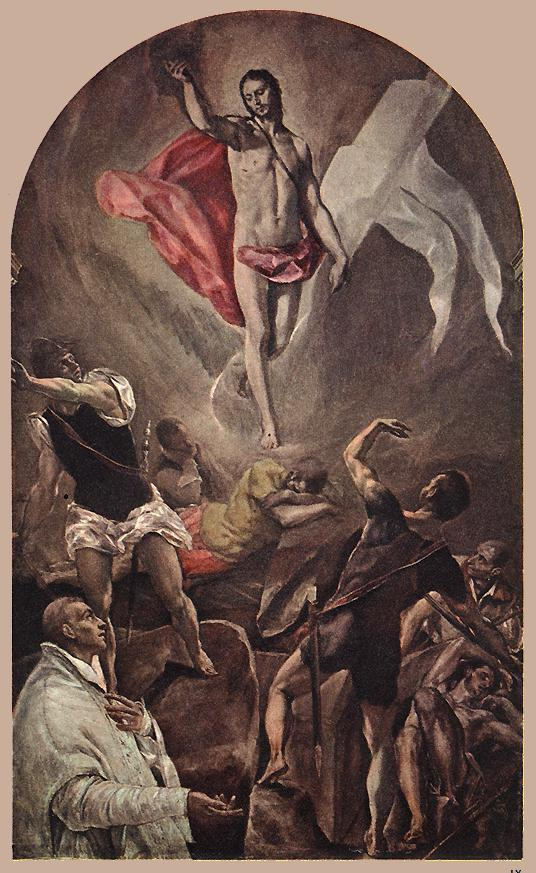 Resurrection 1577-79 | El Greco | Oil Painting