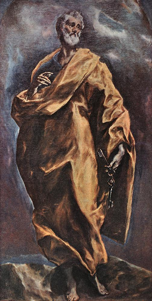 Saint Peter 1610-14 | El Greco | Oil Painting