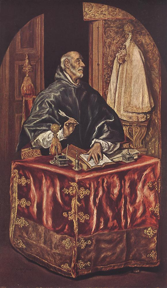 St Ildefonso C 1608 | El Greco | Oil Painting
