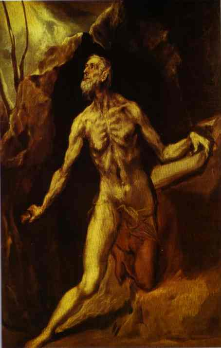 St Jerome 1610-1614 | El Greco | Oil Painting