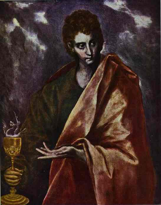 St John The Evangelist 1598-1604 | El Greco | Oil Painting