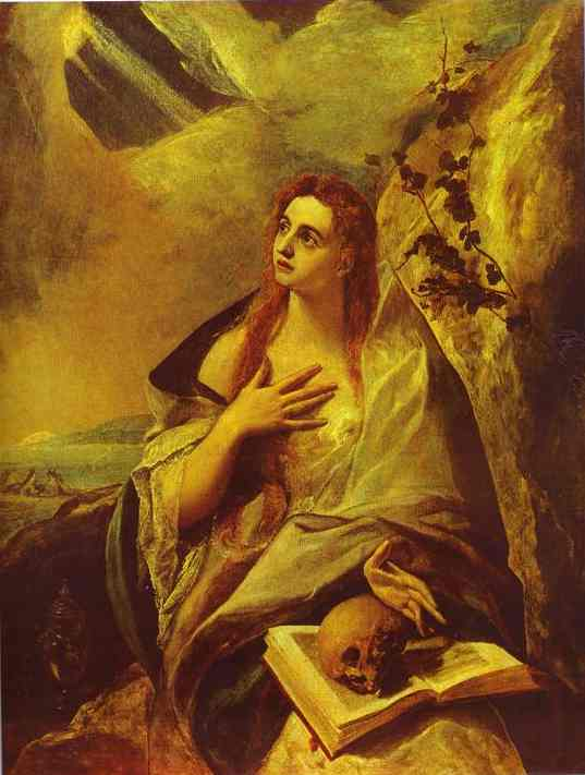 St Mary Magdalene 1576-1578 | El Greco | Oil Painting