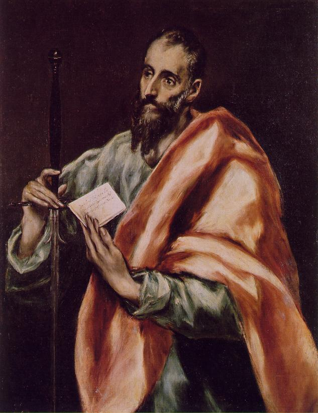 St Paul 1608-1614 | El Greco | Oil Painting