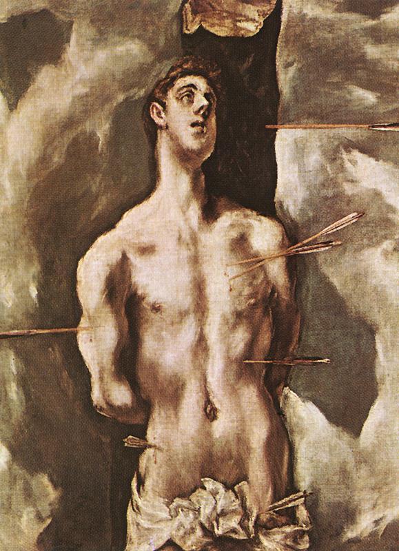 St Sebastian 1610-14 | El Greco | Oil Painting