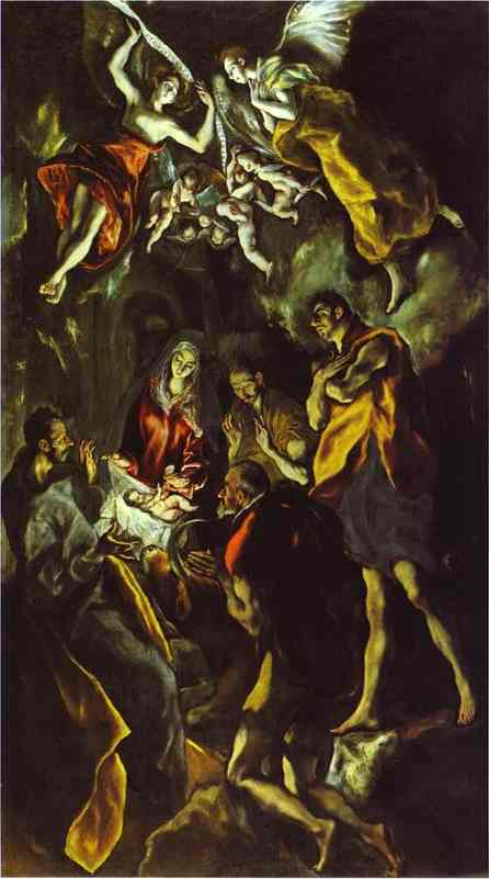 The Adoration Of The Shepherds 1605 | El Greco | Oil Painting