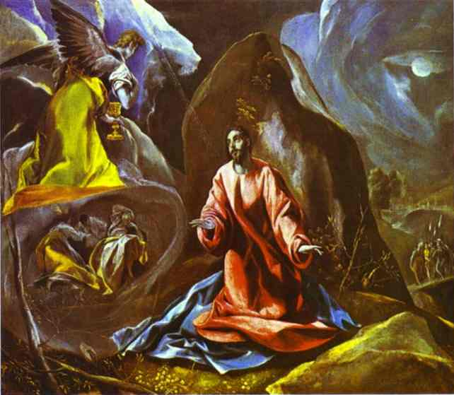 The Agony In The Garden 1595 | El Greco | Oil Painting