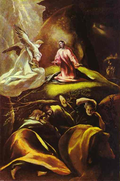 The Agony In The Garden 1605-1610 | El Greco | Oil Painting