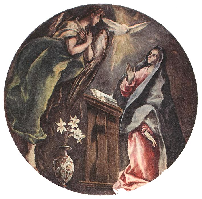 The Annunciation 1603-05 | El Greco | Oil Painting