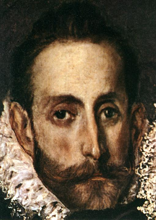 The Burial Of Count Orgaz (Detail) 1586 | El Greco | Oil Painting