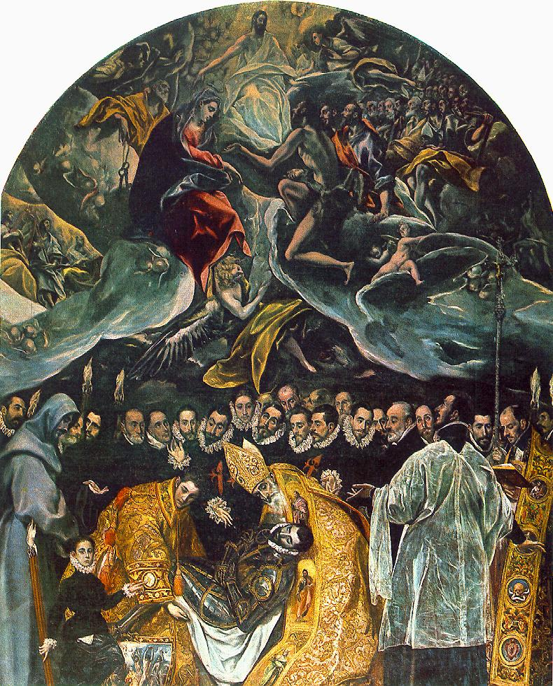 The Burial Of Count Orgaz 1586 | El Greco | Oil Painting
