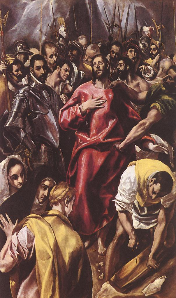 The Disrobing Of Christ 1583-84 | El Greco | Oil Painting