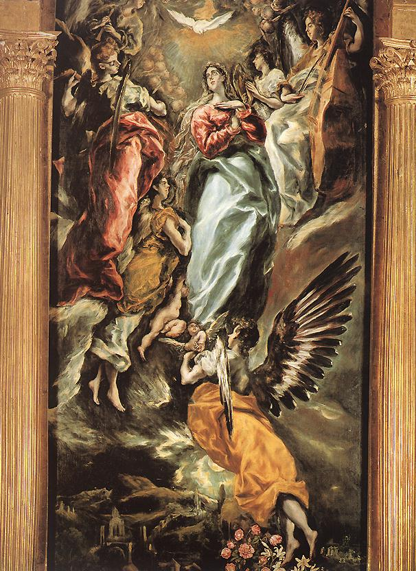 The Immaculate Conception 1607-13 | El Greco | Oil Painting