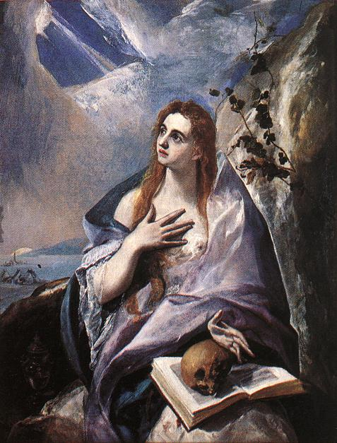 The Magdalene 1576-78 | El Greco | Oil Painting